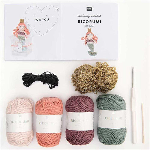 Ricorumi Crochet Kit - Mermaid | Rico Design