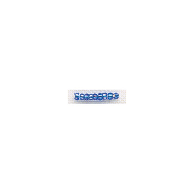 Glass Beads - Size 8/0 - Ocean Blue Ice - 18830