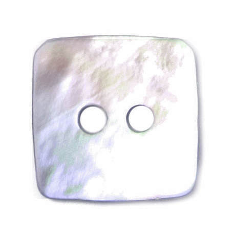 15mm Shell Buttons - Square | A1722