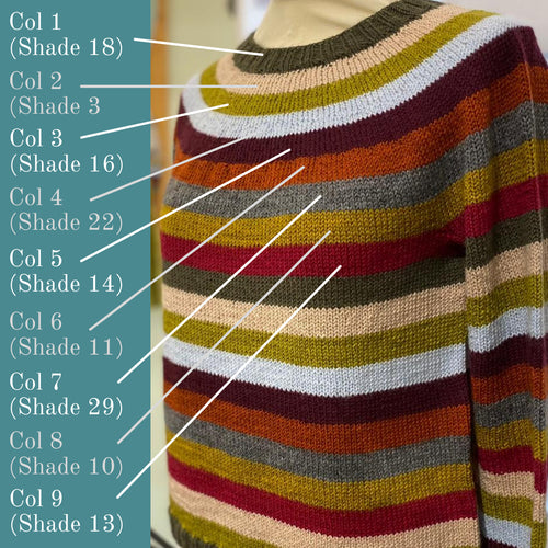 STRIPES! Kit | BC Garn