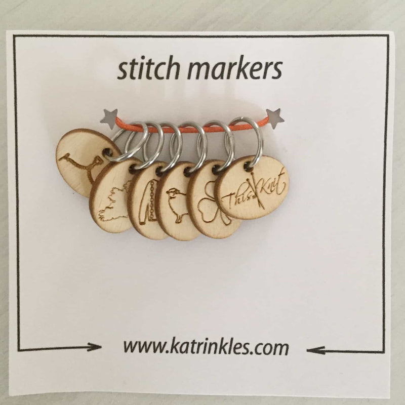 This is Knit Stitch Marker Set | Katrinkles