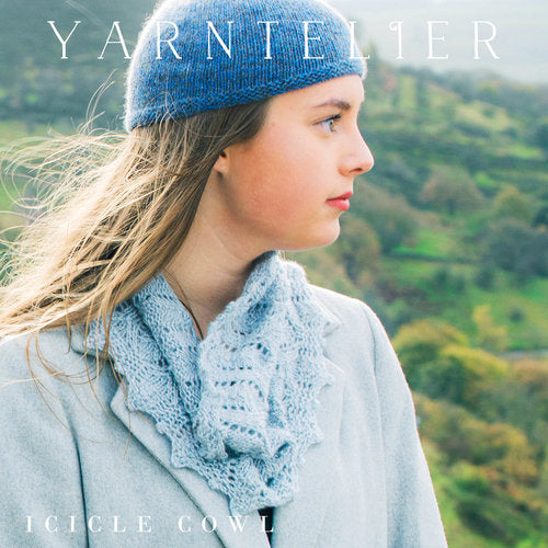 Icicle Cowl Pattern | Yarntelier
