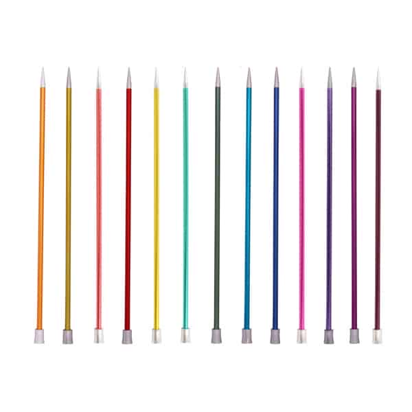 Zing Straight Knitting Needles - 25cm | KnitPro