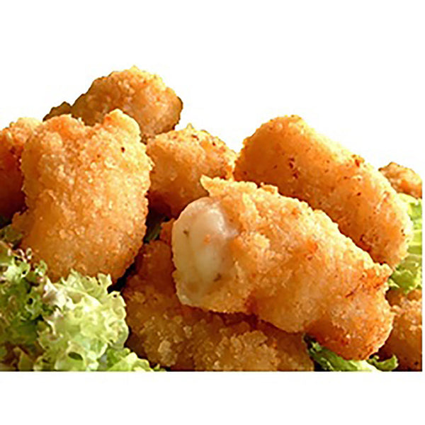 Scampi (7 piece) with homemade tartare sauce