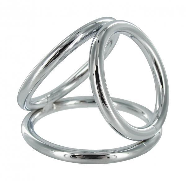 The Triad Large 2 inches Triple Cock Ring Large