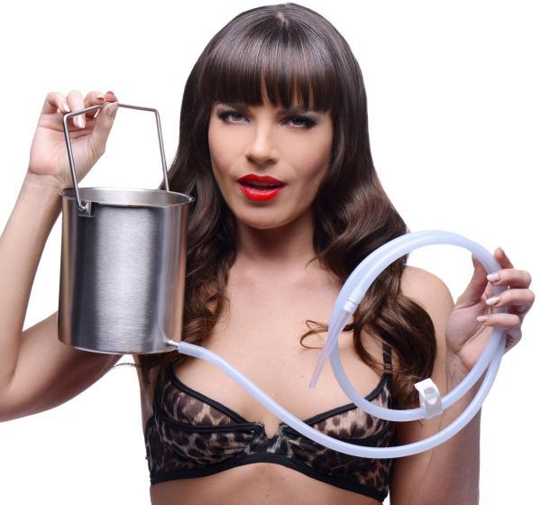 Premium Enema Bucket Kit With Silicone Hose