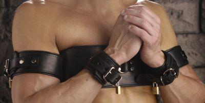Strict Leather Arms To Chest Restraint Belt