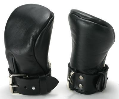 Strict Leather Deluxe Padded Mitts S/M