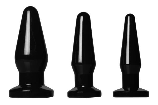 Black Anal Plug - Medium