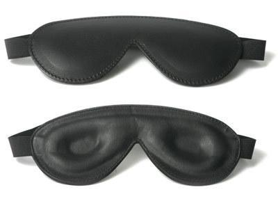 Strict Leather Padded Blindfold - Dick and Jane Emporium