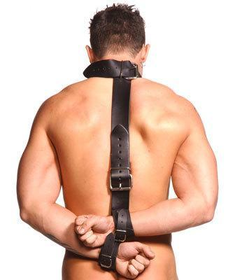 Strict Leather Neck-wrist Restraint