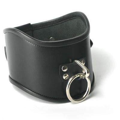 Strict Leather Locking Posture Collar- Large