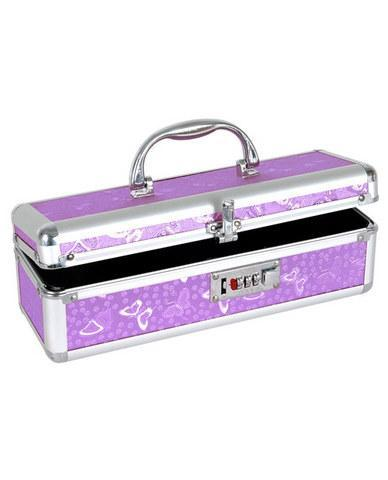 Lockable vibrator case - purple - Dick and Jane Adult Emporium