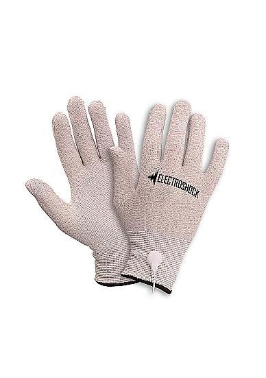 Shots Electroshock E-Stimulation Gloves Gray