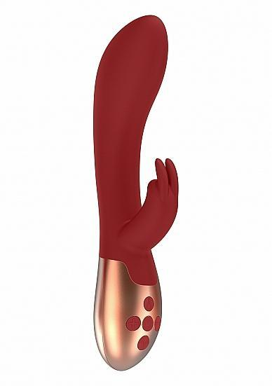 Heating Rabbit Vibrator Opulent Red