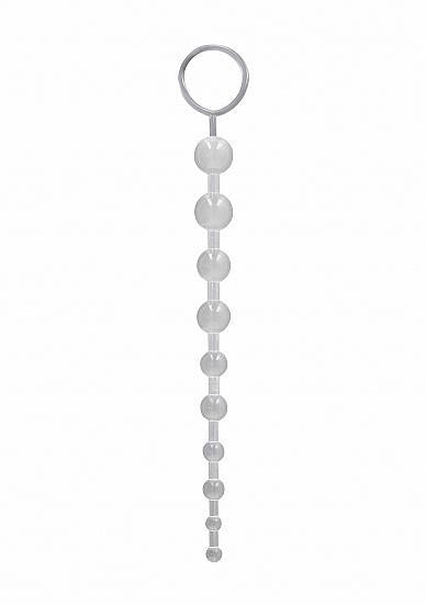 Anal Chain Transparent Clear Beads