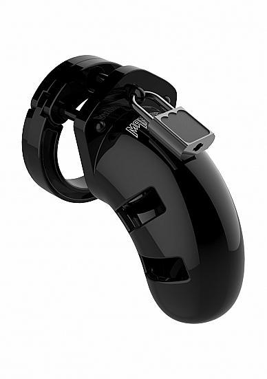 Mancage Model 13 Chastity 2.5 inches Cock Cage Black