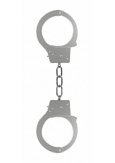 Ouch Beginners Handcuffs Metal Silver
