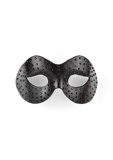 Diamond Moulded Mask Black
