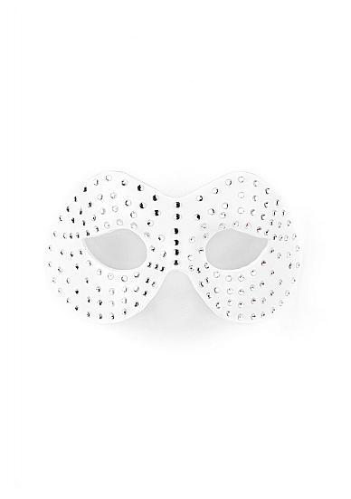 Diamond Moulded Mask White