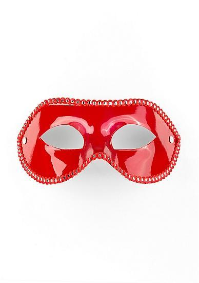 Ouch Mask For Party Red O/S