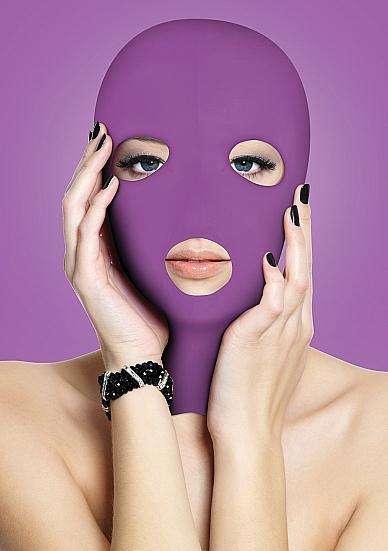 Ouch Subversion 3 Hole Hood Mask Purple O/S