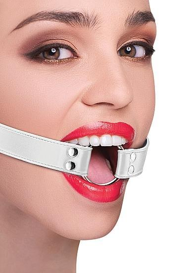 Ouch Ring Gag White O/S