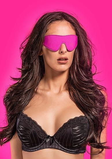 Ouch Reversible Eyemask Blindfold O/S Pink