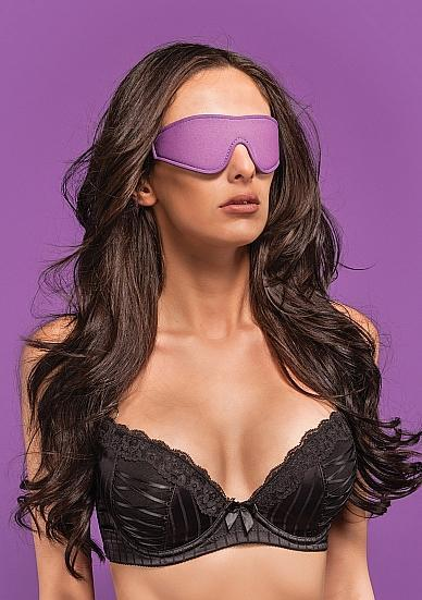 Ouch Reversible Eyemask Blindfold O/S Purple