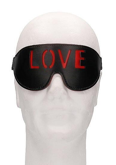 Ouch! Blindfold Love Black O/S