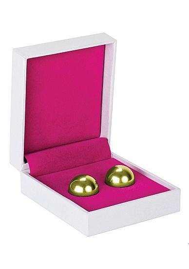 Ben Wa Balls Erotic Exercise Balls Gold