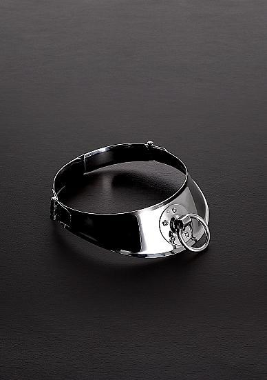 "Locking Men's Collar With Ring (13.5"")"