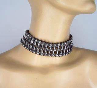 ball-n-chain w/ black accent - 1 size