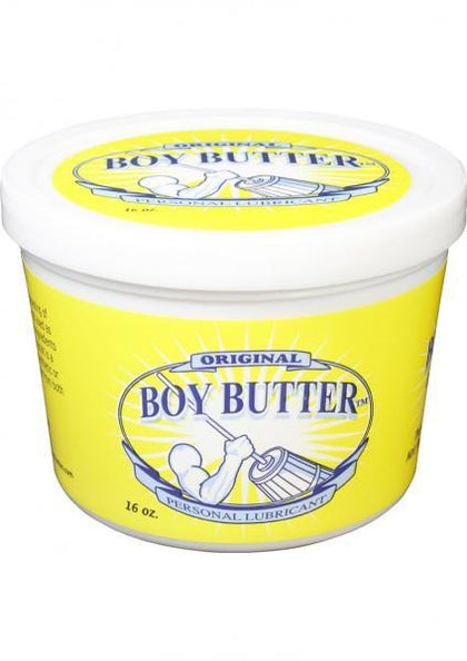 Boy Butter Original Lubricant 16oz Tub