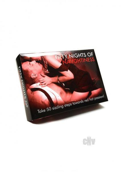 Fifty Nights Of Naughtiness Couples Game