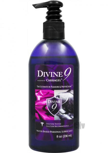 Divine 9 Water Based Lubricant 8oz