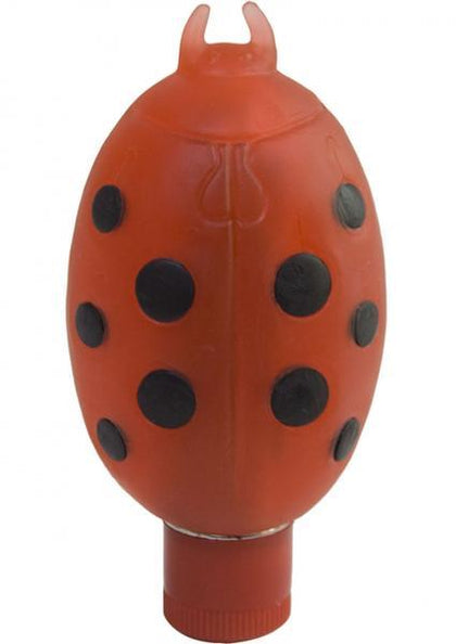 Love Bug Ticklers Lady Bug Waterproof Clitoral Massager Red