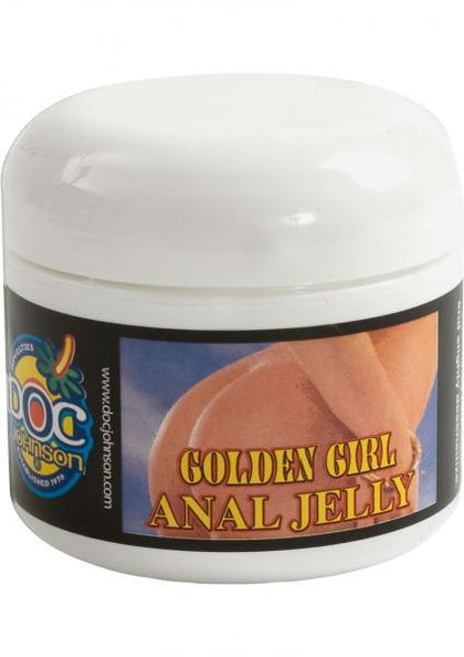 Golden Girl Desensitizing Anal Jelly Lubricant 1.9 Ounce