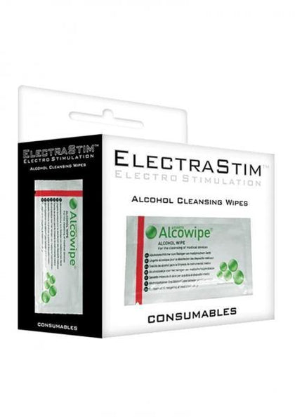 Electrastim Alcohol Cleansing Wipes 10 Pack