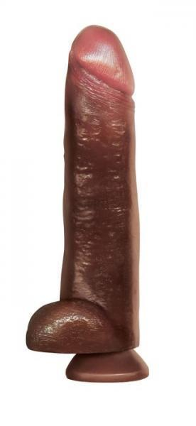 Blackout 13 inches Realistic Cock Dildo Brown