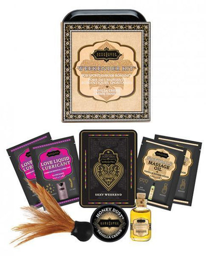 Kama Sutra The Weekender Kit Vanilla Creme
