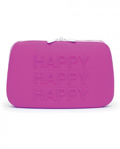 Happy Rabbit Happy Storage Zip Bag Large Purple