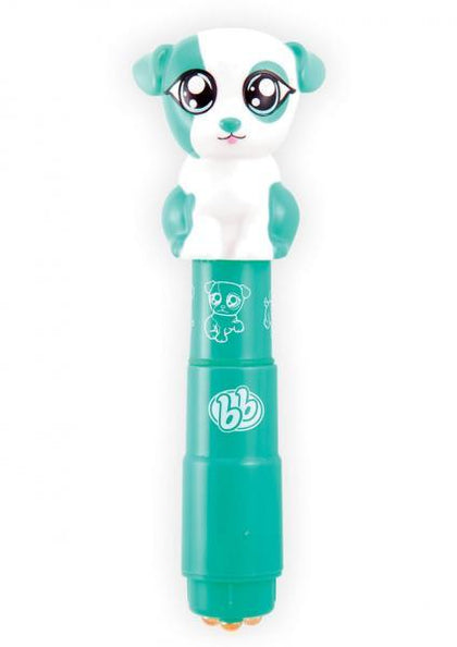 Bzzz Buddies Paws Personal Massager Waterproof Teal