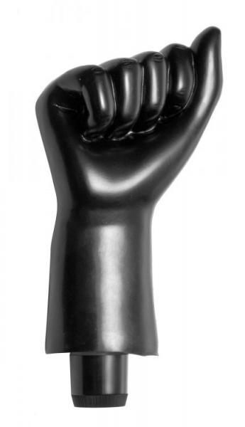 Mister Fister Multi-Speed Vibrating Fist Black - Dick and Jane Adult Emporium