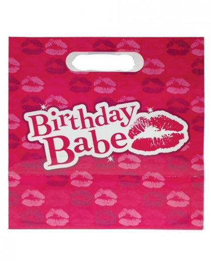 Birthday Babe Gift Bag Pink - Dick and Jane Adult Emporium