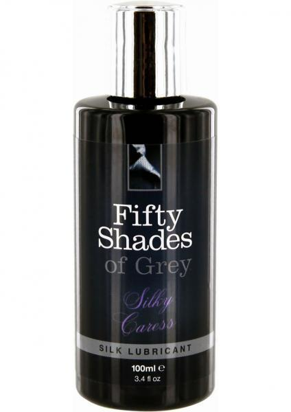 Fifty Shades Of Grey Silky Caress Lubricant 3.4 oz - Dick and Jane Adult Emporium
