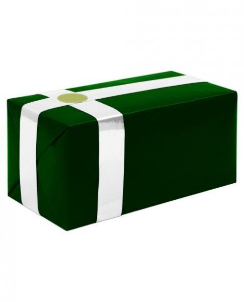 Gift Wrapping For Your Purchase Forest Green White Ribbon Extra Day To Ship - Dick and Jane Adult Emporium