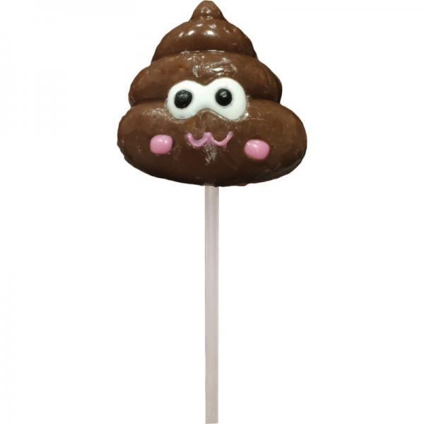 Shit Face Chocolate Flavored Poop Pop - Dick and Jane Adult Emporium
