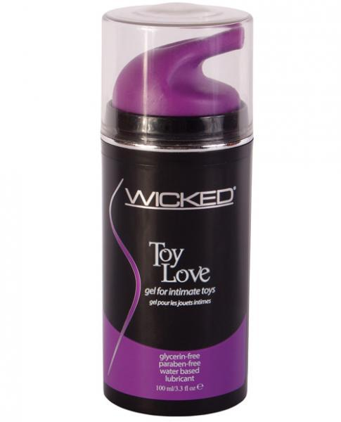 Wicked Toy Love Gel For Toys 3.3oz - Dick and Jane Adult Emporium