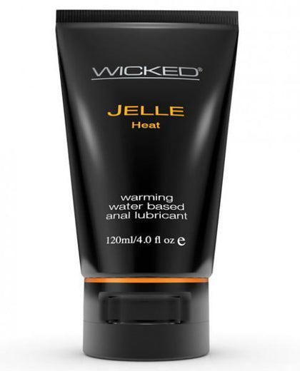 Wicked Jelle Warming Anal Gel Lubricant 4oz Tube - Dick and Jane Adult Emporium